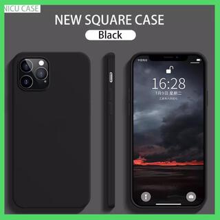 iPhone12miniシリコンソフトケース ブラック
