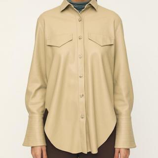 SLY - SLYレザーシャツ