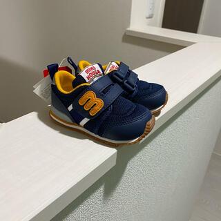 ミキハウス  miki houses シューズ 靴 紺 オレンジ 14センチ