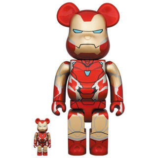 メディコムトイ(MEDICOM TOY)のBE@RBRICK IRON MAN MARK 85 100% & 400%*7(その他)