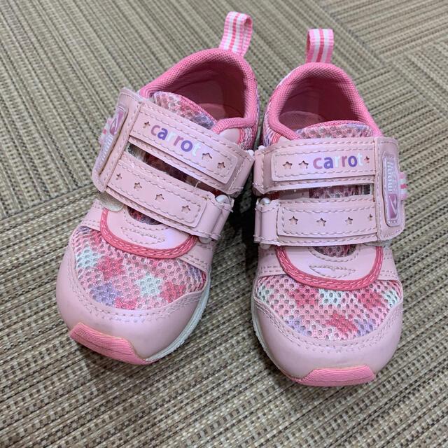 MOONSTAR (ムーンスター)のムーンスター キャロット シューズ14.0 キッズ/ベビー/マタニティのベビー靴/シューズ(~14cm)(スニーカー)の商品写真