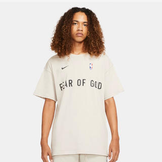 NIKE - NIKE FEAR OF GOD FOG TEE Lサイズ oatmeal