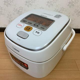 ゾウジルシ(象印)の象印 炊飯器圧力IH式 1升 ホワイト NP-YS18-WA(炊飯器)