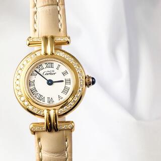 Cartier - 【仕上済】カルティエ コリゼ 中抜きローマン ダイヤ レディース 腕時計