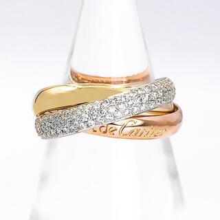 カルティエ(Cartier)の【仕上済】カルティエ トリニティリング ダイヤ 13号 レディース 指輪(腕時計)