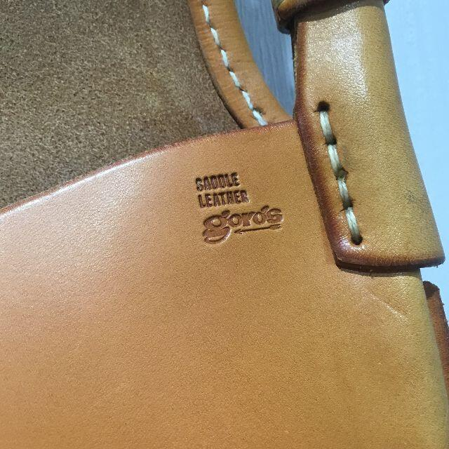 goro's(ゴローズ)のgoro's ゴローズ ハンティングバッグ サドル メンズのバッグ(ショルダーバッグ)の商品写真