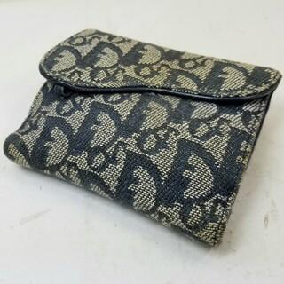 クリスチャンディオール(Christian Dior)のChristian Dior ディオール トロッター 2つ折り財布(財布)
