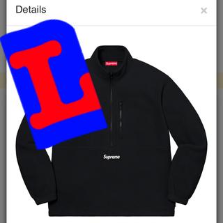 Supreme - Supreme Polartec Half Zip Pullover 黒L