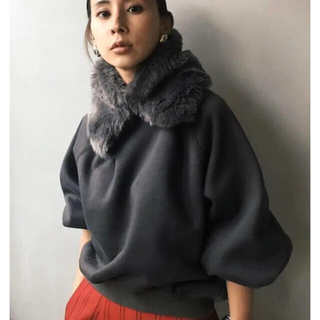 Ameri VINTAGE - 定価以下【美品】Ameri Vintage 2WAY ECO FUR SWEAT