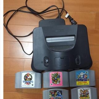 ニンテンドウ64(NINTENDO 64)のロクヨン64(家庭用ゲーム機本体)