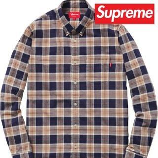 Supreme - supreme tartan flannel shirt