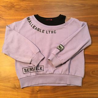 lovetoxic - ラブトキシック トレーナー 140