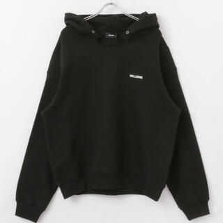 PEACEMINUSONE - WE11DONE BLACK HOODIE 黒 Lサイズ