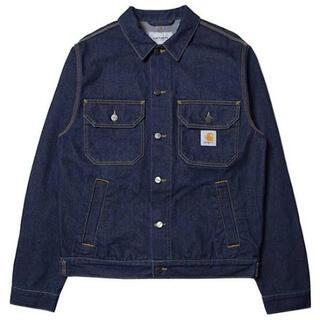 カーハート(carhartt)のCARHARTT WIP Stetson Jacket ブルー(Gジャン/デニムジャケット)