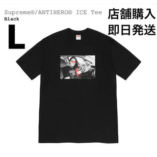 Supreme - Supreme Tee シュプリーム AntiHero ICE Tee