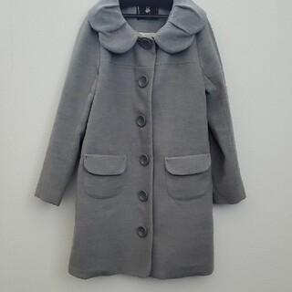 フランシュリッペ(franche lippee)の美品 チューリップ襟コート(ロングコート)