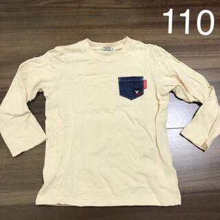 ダブルビー(DOUBLE.B)のミキハウス ダブルビー  ロンT 110cm ホワイト(Tシャツ/カットソー)