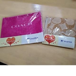COACH - COACH タオルハンカチ ポーチ セット