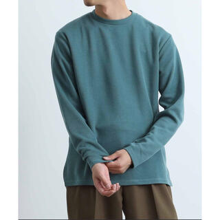 アダムエロぺ(Adam et Rope')のADAM ET ROPE'  アダムエロペ  USDクルーネックプルオーバー(Tシャツ/カットソー(七分/長袖))