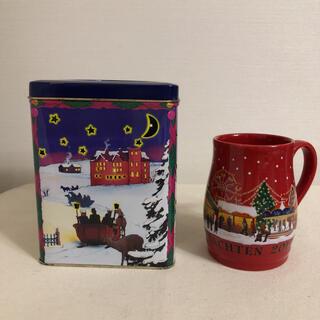 KALDI - カルディ  クリスマスマグカップ キャンドルケース