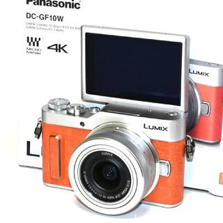 Panasonic - 【Panasonic】極上品!自撮り!LUMIX DC-GF10レンズキット
