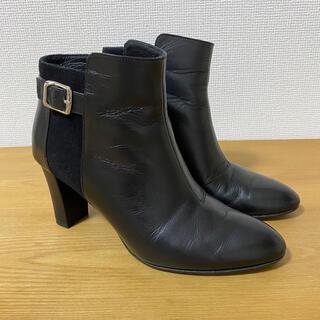 DIANA - DIANA ダイアナ 本革 ショートブーツ 23cm