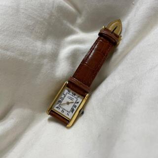 カルティエ(Cartier)の【希少】ヴィンテージ カルティエ  タンク(腕時計)