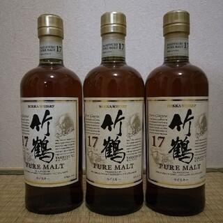 ニッカウヰスキー - ウイスキー竹鶴17年3本セット