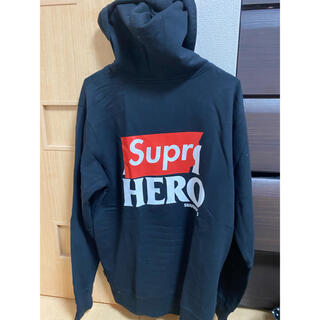 シュプリーム(Supreme)のsupreme14ss ANTI HERO zip Parker 美品(パーカー)