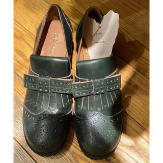 ジェーンマープル(JaneMarple)のJane marple タッセルシューズ ジェーンマープル(ローファー/革靴)