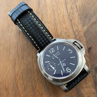 PANERAI - 44mm  チタン 手巻き時計 カスタム時計