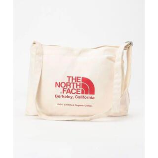 ザノースフェイス(THE NORTH FACE)の新品THE NORTH FACE ザノースフェイス ショルダーバッグ レッド(ショルダーバッグ)