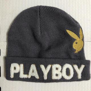 プレイボーイ(PLAYBOY)のプレイボーイ ニット帽 キッズ(帽子)