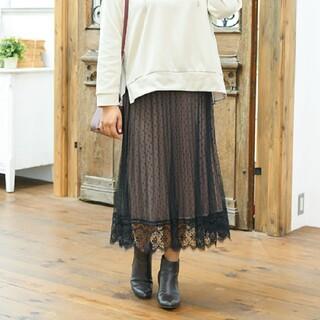 シマムラ(しまむら)の🙆リバーシブルロングスカート🎇大きいサイズ(ロングスカート)