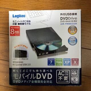 【モバイルDVD】Logitec LDR-PME8U2LBK(DVDプレーヤー)