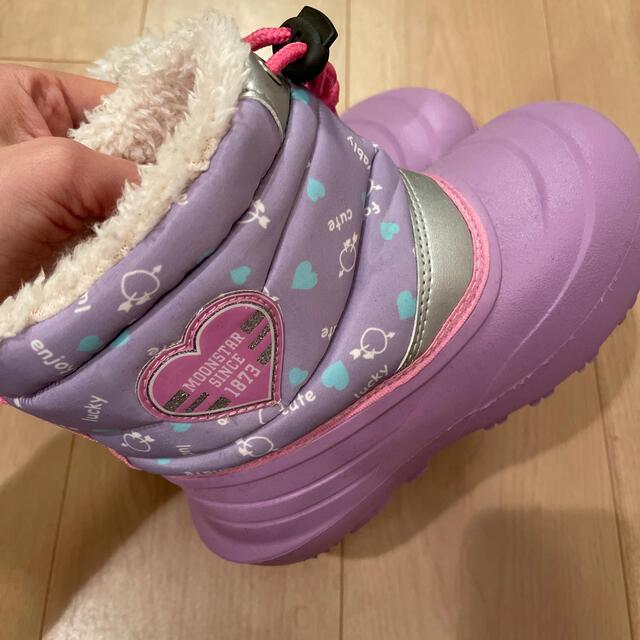 MOONSTAR (ムーンスター)のムースター キッズブーツ 18cm キッズ/ベビー/マタニティのキッズ靴/シューズ(15cm~)(ブーツ)の商品写真