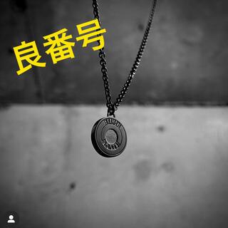 ガルニ(GARNI)のEXAMPLE x GARNI ROUND LOGO PENDANT(ネックレス)