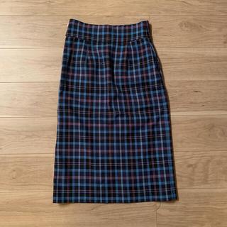 レイビームス(Ray BEAMS)の【MKO*さま】Ray BEAMS チェック柄 ロングタイトスカート(ロングスカート)