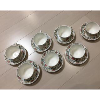 ミントン(MINTON)のミントン★カップ&ソーサー7客セット★新品同様(食器)