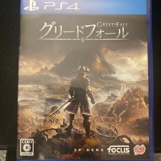 PlayStation4 - 中古備品 グリードフォール PS4