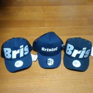 エフシーアールビー(F.C.R.B.)のFCRB 16AW NEW ERA BIG LOGO MESH CAP(キャップ)