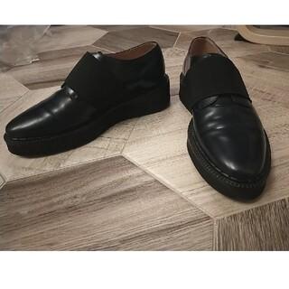 ファビオルスコーニ(FABIO RUSCONI)のファビオルスコーニ ローファー 35 1/2 ブラック(ローファー/革靴)