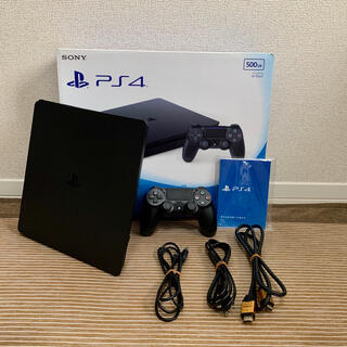 PlayStation4 - PlayStation®4 ジェット・ブラック 500GB CUH-2000A