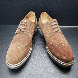 カンタレリ (CANTARELLI) イタリア製革靴 茶 41