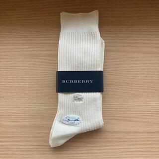 BURBERRY - Burberryバーバリーソックス