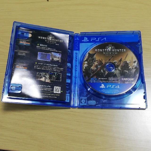 PlayStation4(プレイステーション4)のモンスターハンター:ワールド PS4 エンタメ/ホビーのゲームソフト/ゲーム機本体(家庭用ゲームソフト)の商品写真