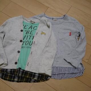 ニットプランナー(KP)のケーピーボーイ トップス 95 100(Tシャツ/カットソー)