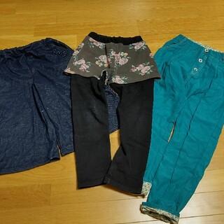 マザウェイズ(motherways)の女の子 パンツ3枚セット 140cm(パンツ/スパッツ)