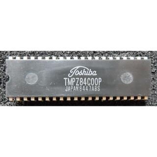 トウシバ(東芝)の東芝製 CPU TMPZ84C00P(その他)