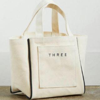 THREE - 新品 THREE ノベルティ バッグ